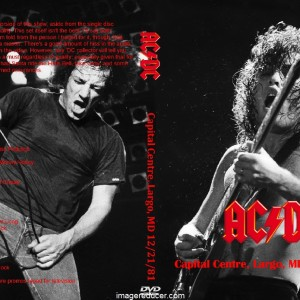 acdc 1981-12-21 Capital Centre, Largo, MD(2)