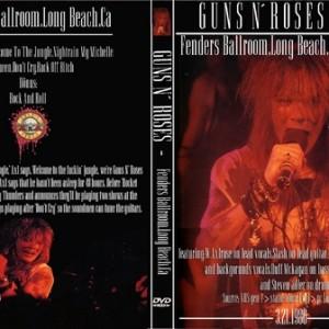 Guns N' Roses 1986-03-21 Fenders Ballroom, Long Beach, CA DVD