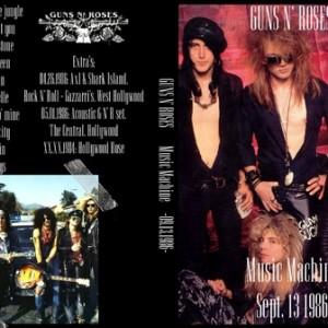 Guns N' Roses 1986-09-13 Music Machine, Los Angeles, CA DVD