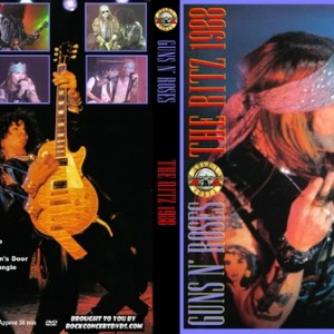 Guns N' Roses 1988-02-02 The Ritz, New York, NY DVD