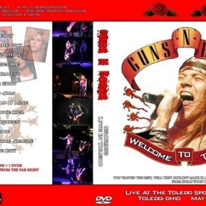 Guns N' Roses 1988-05-01 Toledo Sports Arena, Toledo, OH DVD