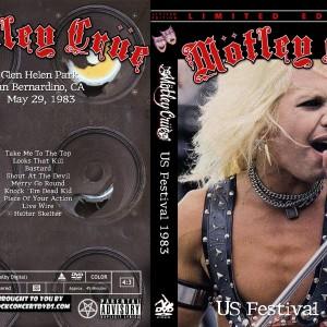 Motley Crue - 1983-05-29 US Festival DVD