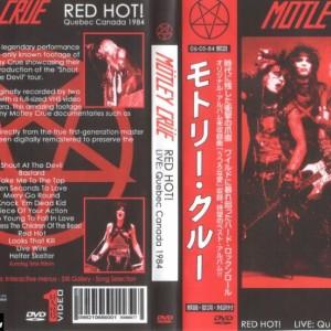 Motley Crue - 1984-06-05 Quebec Canada DVD
