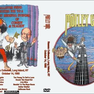 Motley Crue - 1985-10-14 Long Island DVD