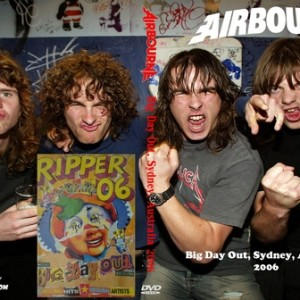 Airbourne 2006 Big Day Out Sydney Australia DVD
