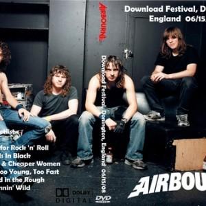 Airbourne 2008-06-15 Download Fest Donnington UK DVD