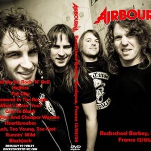 Airbourne 2008-12-05 Bordeaux, France DVD