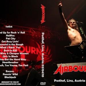 Airbourne 2010-04-03 Linz Austria DVD