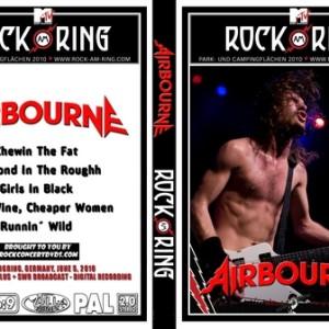Airbourne 2010-06-05 Nurburg Germany DVD