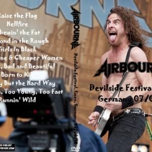 Airbourne 2010-07-04 Devilside Festival, Essen, Germany DVD