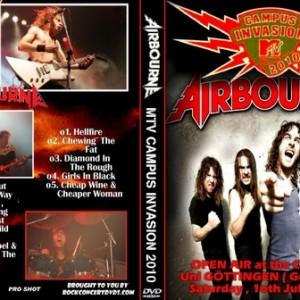 Airbourne 2010-07-10 Gottingen Germany DVD