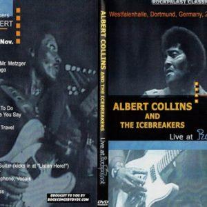 Albert Collins - 1980-11-26 Westfalenhalle, Dortmund, Germany DVD
