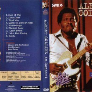 Albert Collins - 1988-10-27 Stuttgart Germany 2 DVD