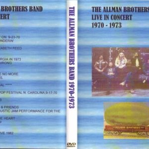 Allman Brothers Band Vol. 1 Back Where It All Began 2 DVD
