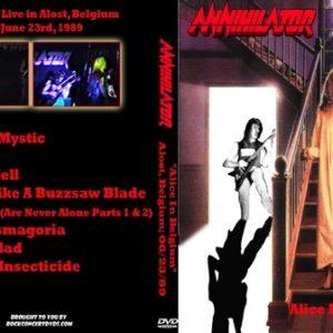 Annihilator 1989-06-23 Alost Belgium DVD