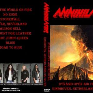 Annihilator 1993-05-30 Dynamo Open Air Festival, Eindhoven, Netherlands DVD