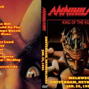 Annihilator 1995-01-25 Amsterdam The Netherlands DVD
