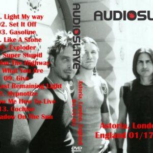 Audioslave 2003-01-17 London England DVD