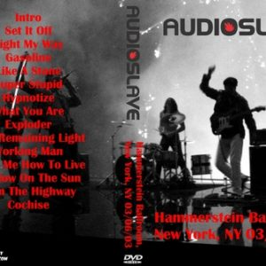 Audioslave 2003-06-03 New York NY DVD