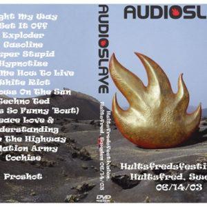 Audioslave 2003-06-14 Hultsfred festival Sweden DVD