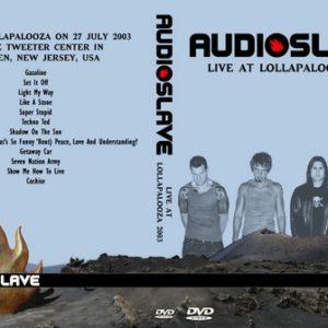 Audioslave 2003-07-27 Camden NJ DVD