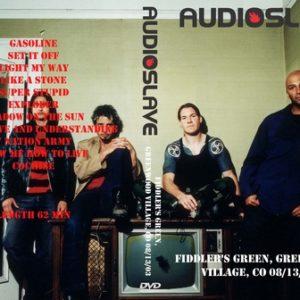 Audioslave 2003-08-13 Fiddler's Green, Greenwood Village, CO DVD