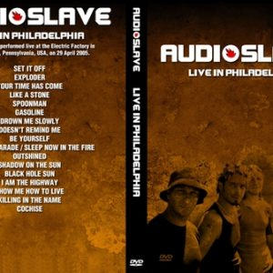 Audioslave 2005-04-29 Philadelphia PA DVD