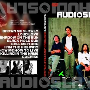 Audioslave 2005-07-05 Montreux Jazz Fest DVD
