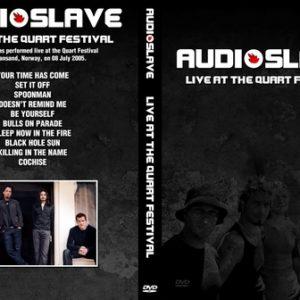 Audioslave 2005-07-08 Kristiansand Norway DVD