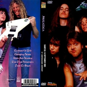 Metallica - 1985-09-14 St Goarshausen West Germany DVD