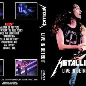 Metallica - 1986-04-04_Detroit MI DVD