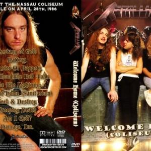 Metallica - 1986-04-28_Uniondale NY DVD