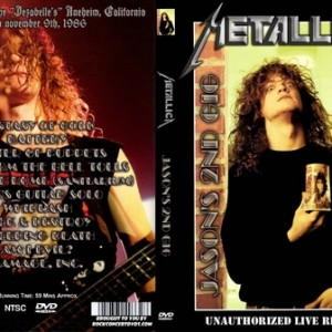 Metallica - 1986-11-09_Anaheim CA DVD