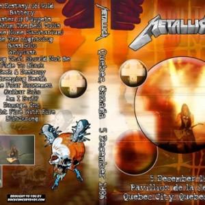 Metallica - 1986-12-05_Quebec City Canada 2DVD