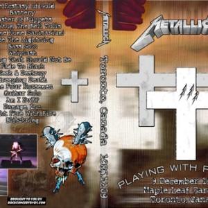 Metallica - 1986-12-09_Toronto Canada DVD