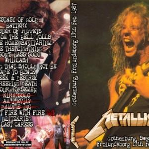 Metallica - 1987-02-13_Gothenburg Sweden 2DVD