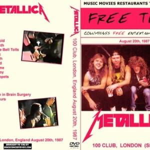 Metallica - 1987-08-20_London England 2DVD