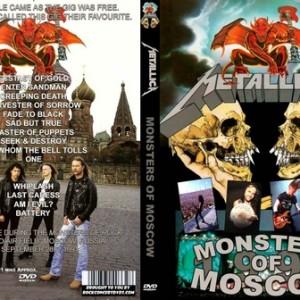 Metallica - 1991-09-28_Moscow Soviet Union DVD