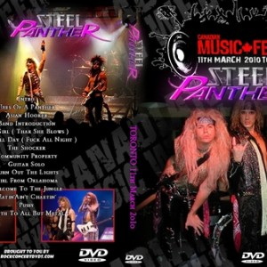 Steel Panther - 2010-03-11 Toronto Canada DVD