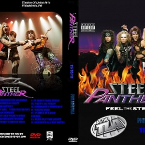 Steel Panther - 2011-11-30 Philly PA DVD