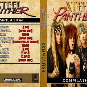 Steel panther - 2009 Compilation DVD