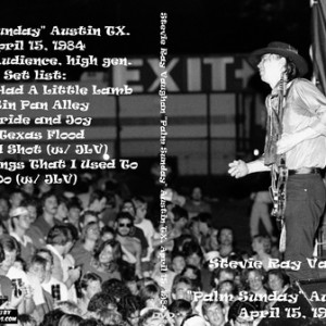 Stevie Ray Vaughan 1984-04-15 Austin TX DVD