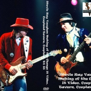 Stevie Ray Vaughan 1985 Making of the Change It Video Coupland TX DVD