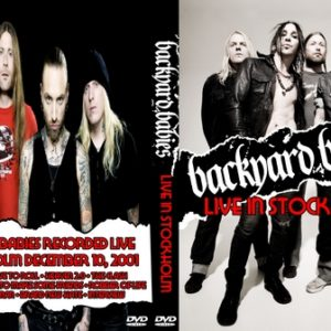 Backyard Babies 2001-12-10 Stockholm Sweden DVD