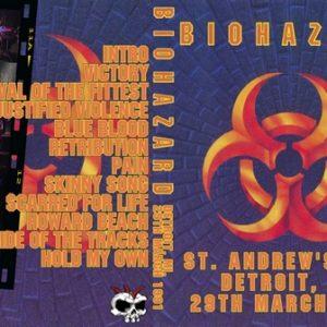 Biohazard 1991-03-29 St. Andrew's Hall, Detroit, MI DVD