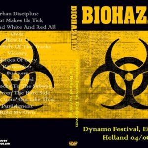 Biohazard 1995-06-04 Dynamo Festival, Eindhoven, Holland DVD
