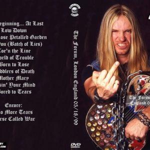 Black Label Society 1999-05-18 The Forum London England DVD