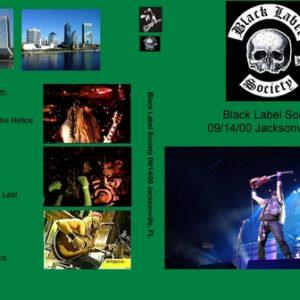 Black Label Society 2000-09-14 Jacksonville FL DVD