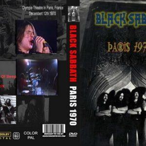 Black Sabbath 1970-12-19 Paris France DVD
