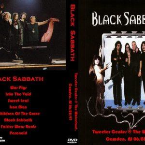 Black Sabbath 1997-06-08 Tweeter Center @ The Waterfront, Camden, NJ DVD
